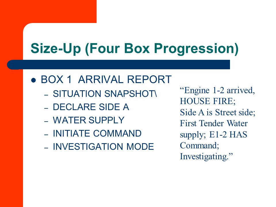 Size-Up (Four Box Progression)