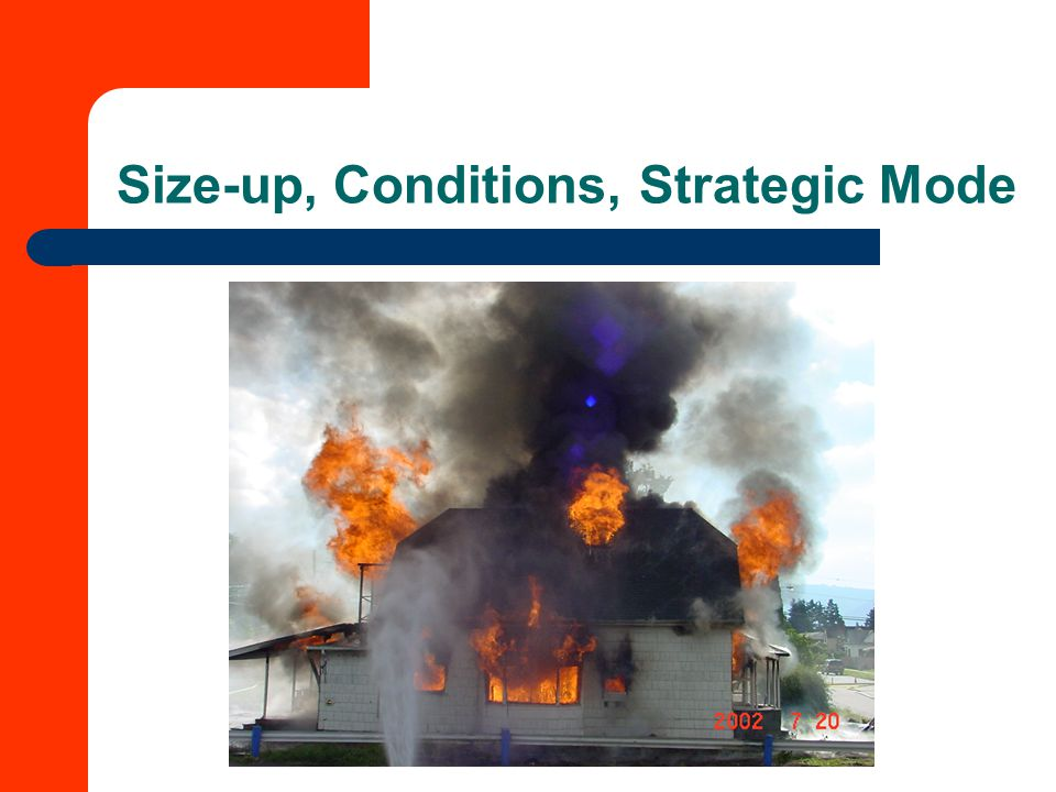 Size-up, Conditions, Strategic Mode