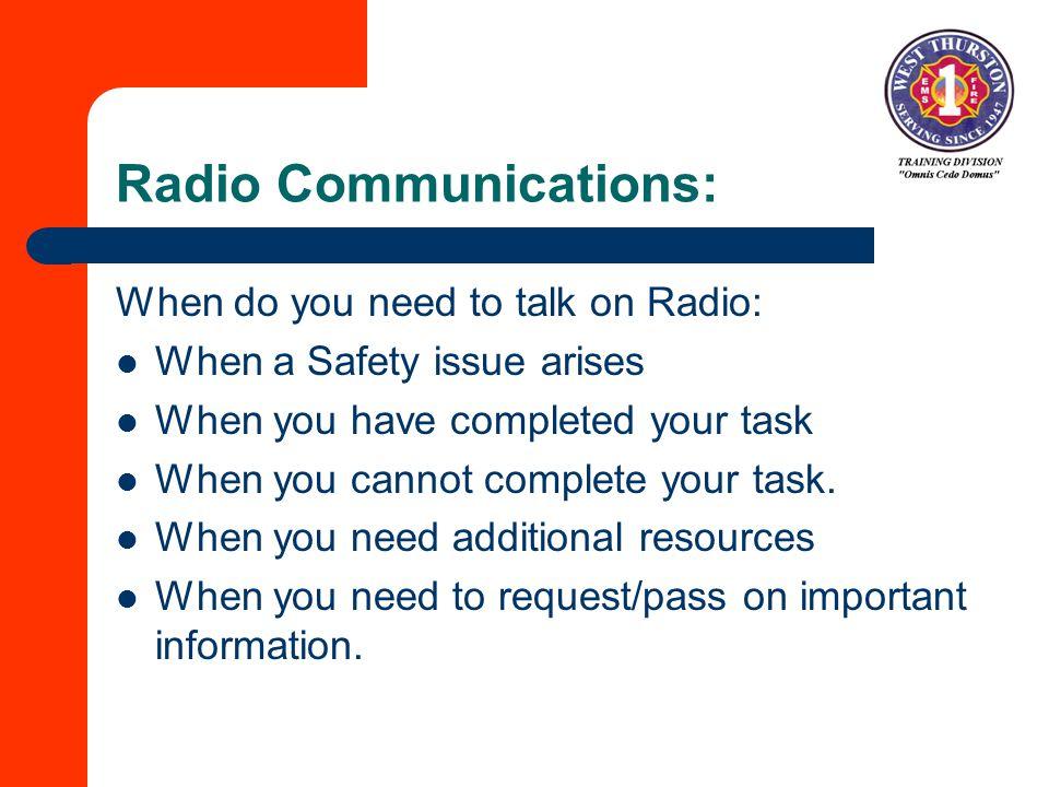 Radio Communications: