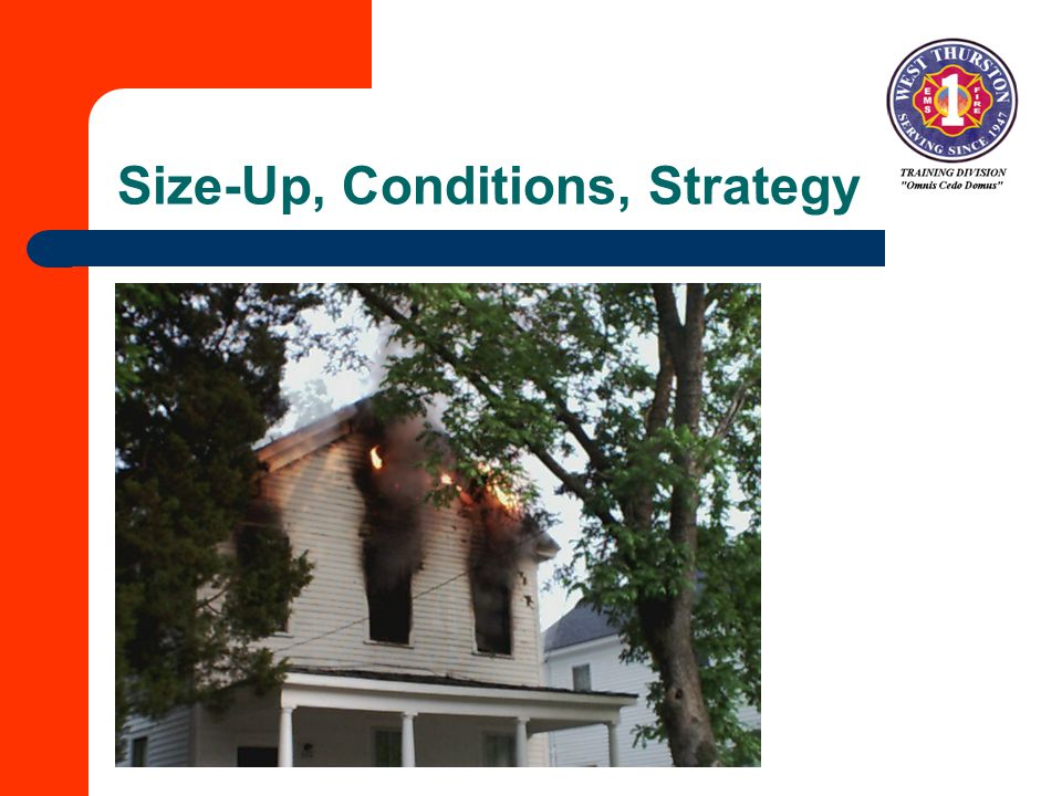 Size-Up, Conditions, Strategy