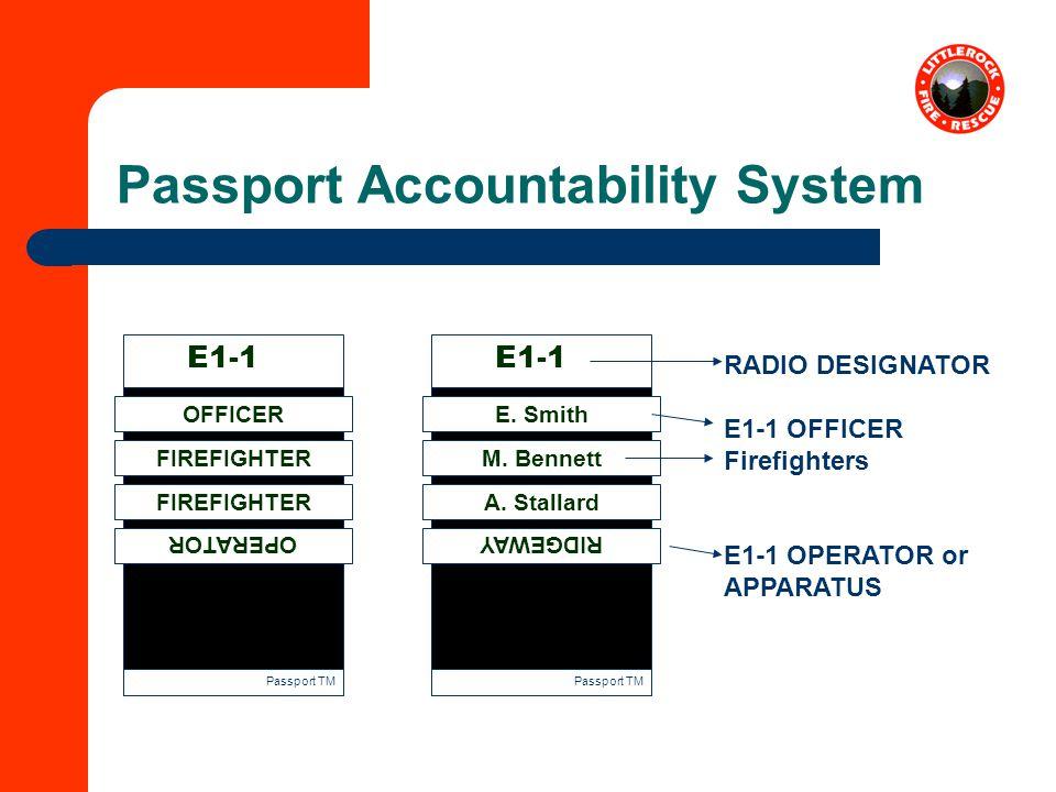 Passport Accountability System