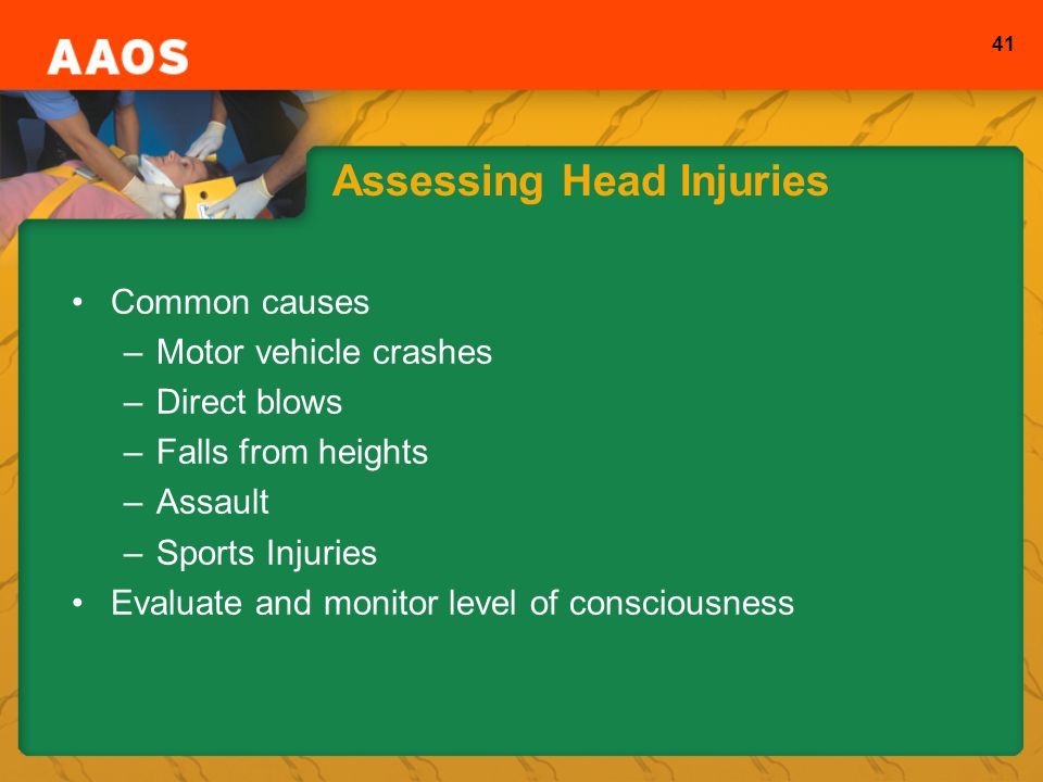 Assessing Head Injuries