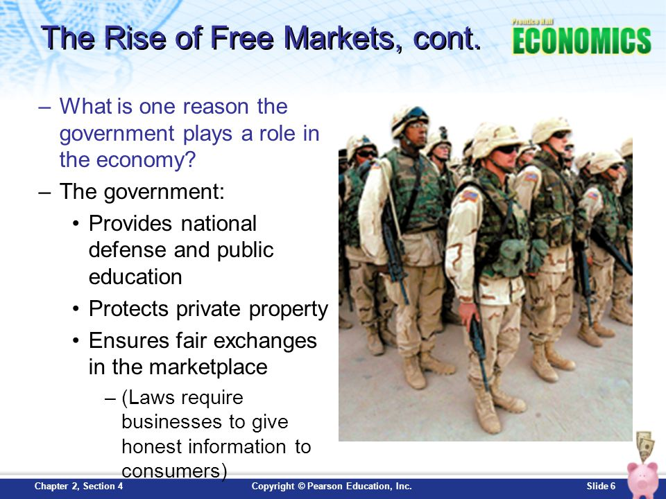 The Rise of Free Markets, cont.