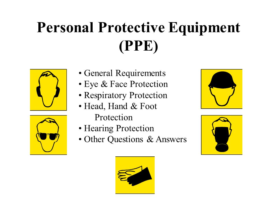 Personal Protective Equipment Ppe Ppt Video Online Download