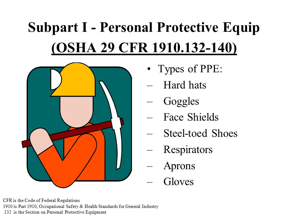 """the importance of personnel protective equipment ppt (for example, if you checked """"no ppe needed"""" for respiratory protection, slides  40-42 can be deleted from the presentation) slides 2-5, and 43-46 may not."""