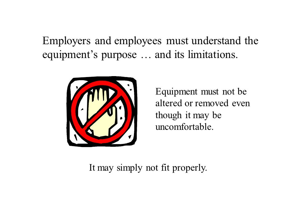 Employers and employees must understand the