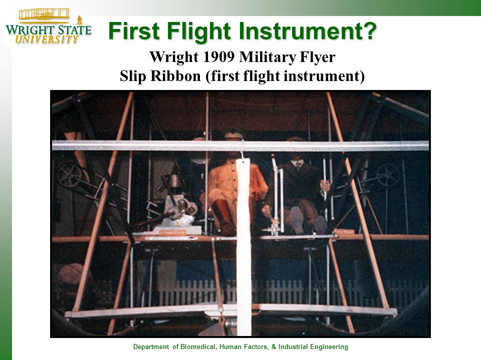 First Flight Instrument