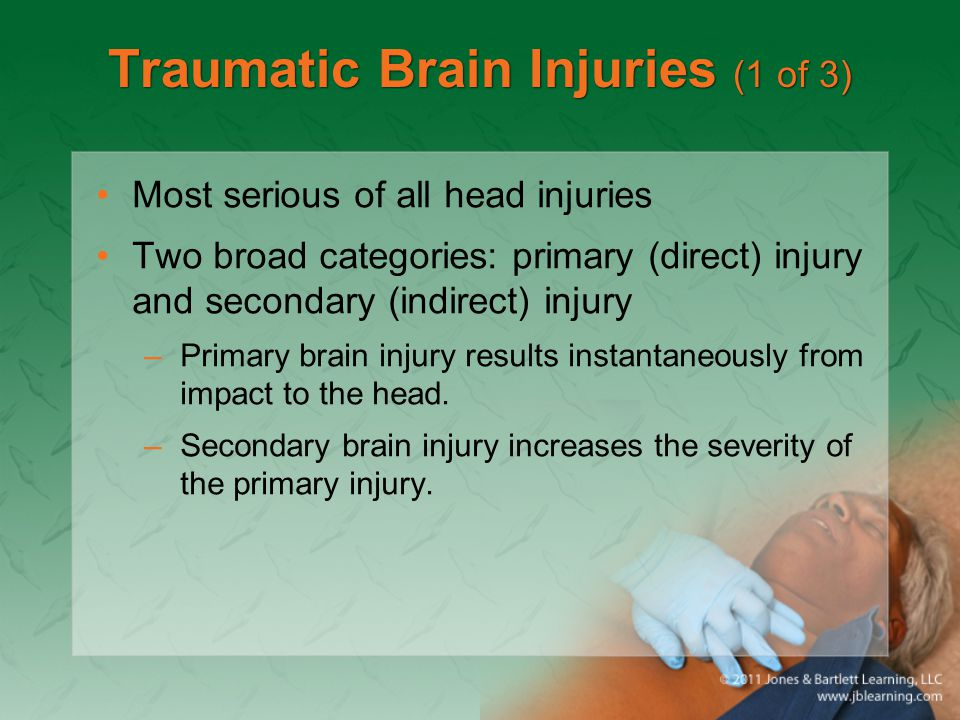 Traumatic Brain Injuries (1 of 3)