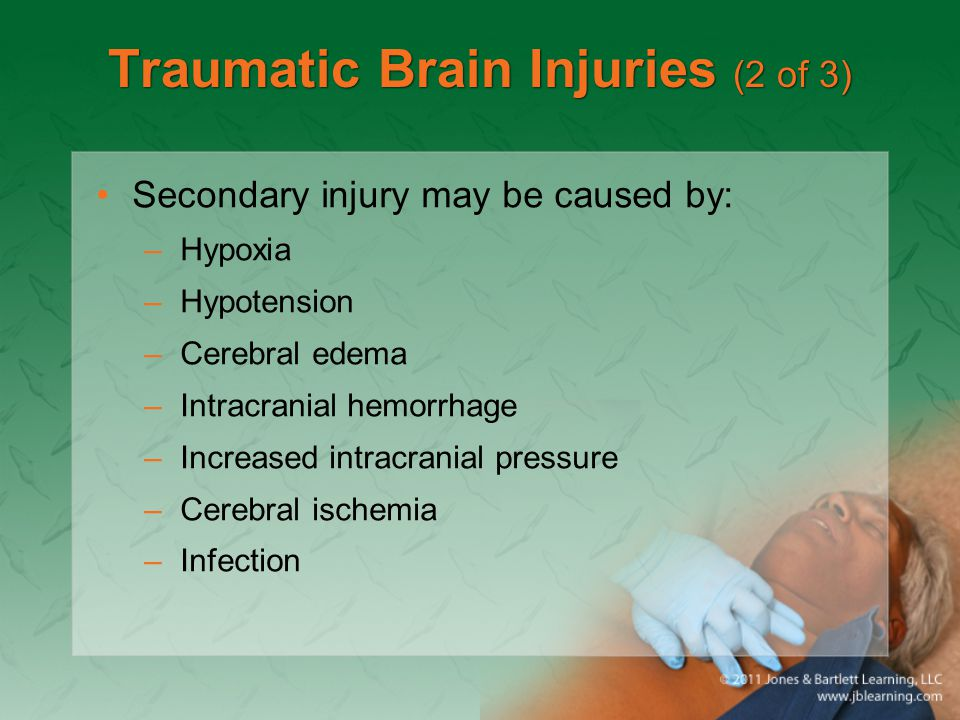 Traumatic Brain Injuries (2 of 3)