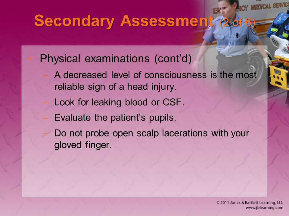 Secondary Assessment (2 of 6)