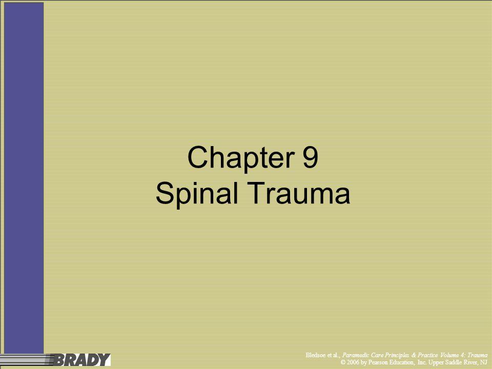 Chapter 9 Spinal Trauma