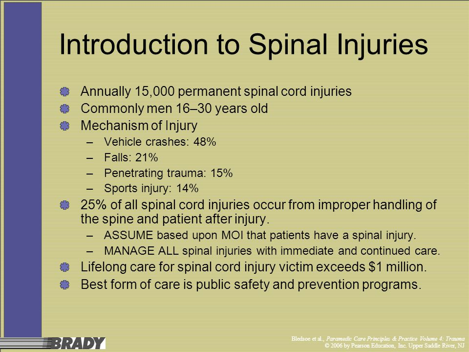 Introduction to Spinal Injuries