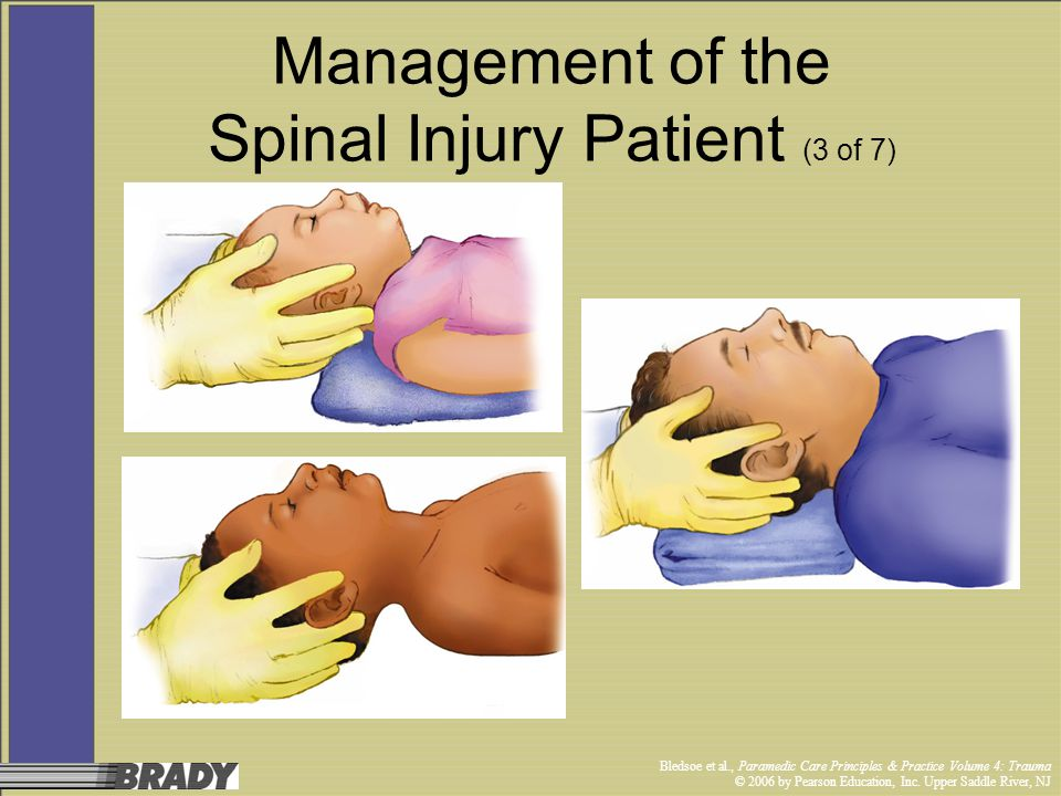 Management of the Spinal Injury Patient (3 of 7)