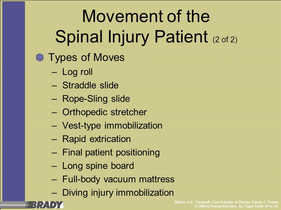 Movement of the Spinal Injury Patient (2 of 2)
