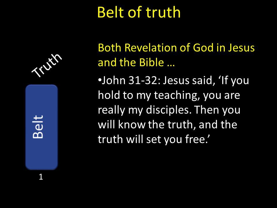 Belt of truth Truth Belt