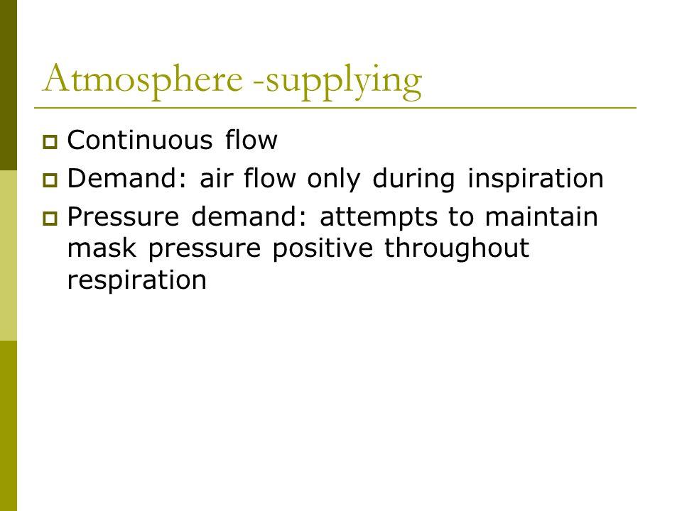 Atmosphere -supplying