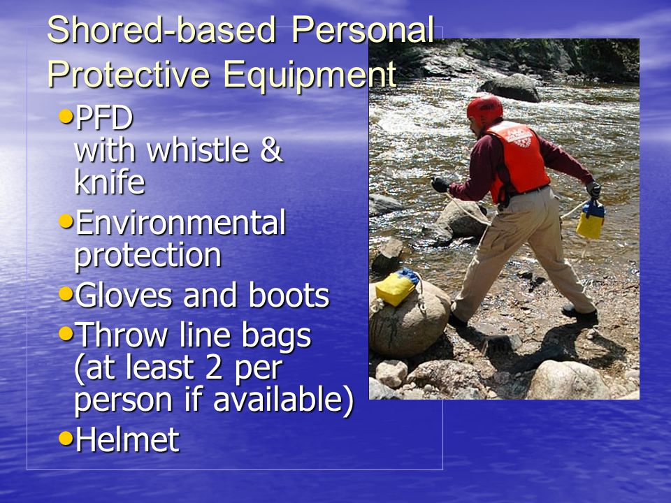 Shored-based Personal Protective Equipment