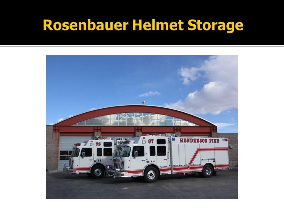 Rosenbauer Helmet Storage