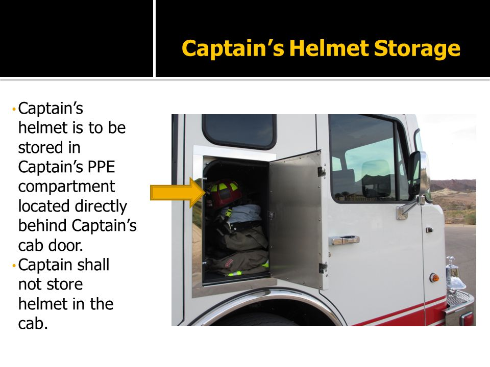 Captainu0027s Helmet Storage