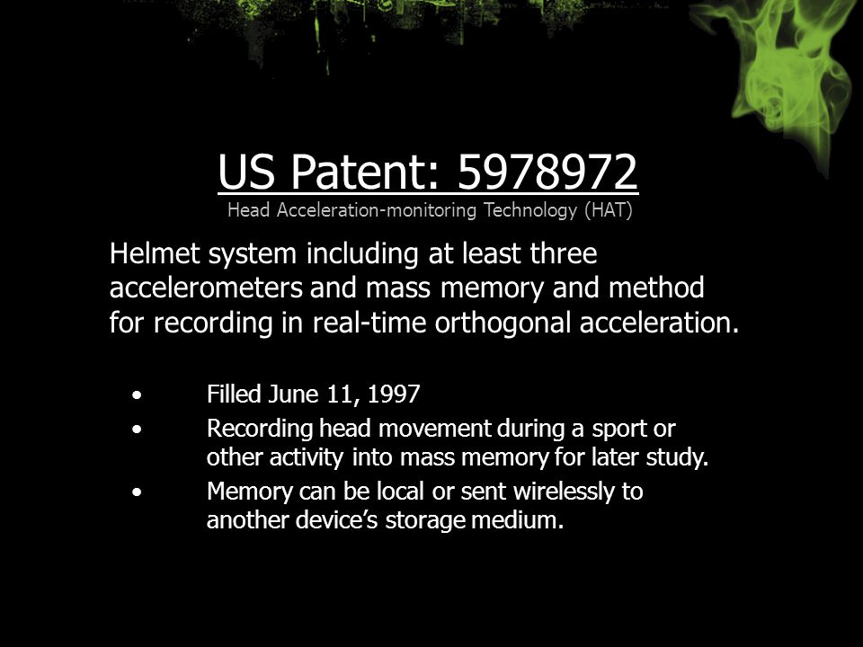 Head Acceleration-monitoring Technology (HAT)