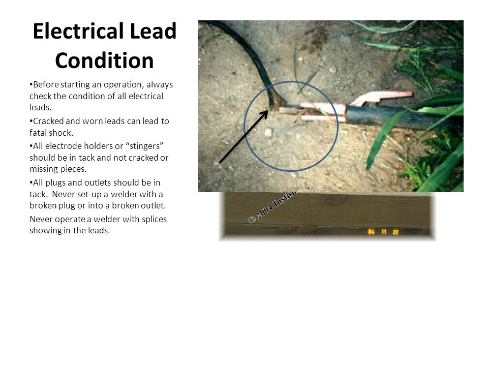 Electrical Lead Condition