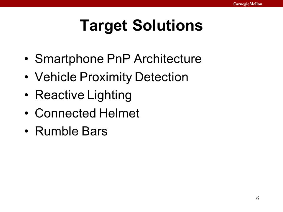 Target Solutions Smartphone PnP Architecture