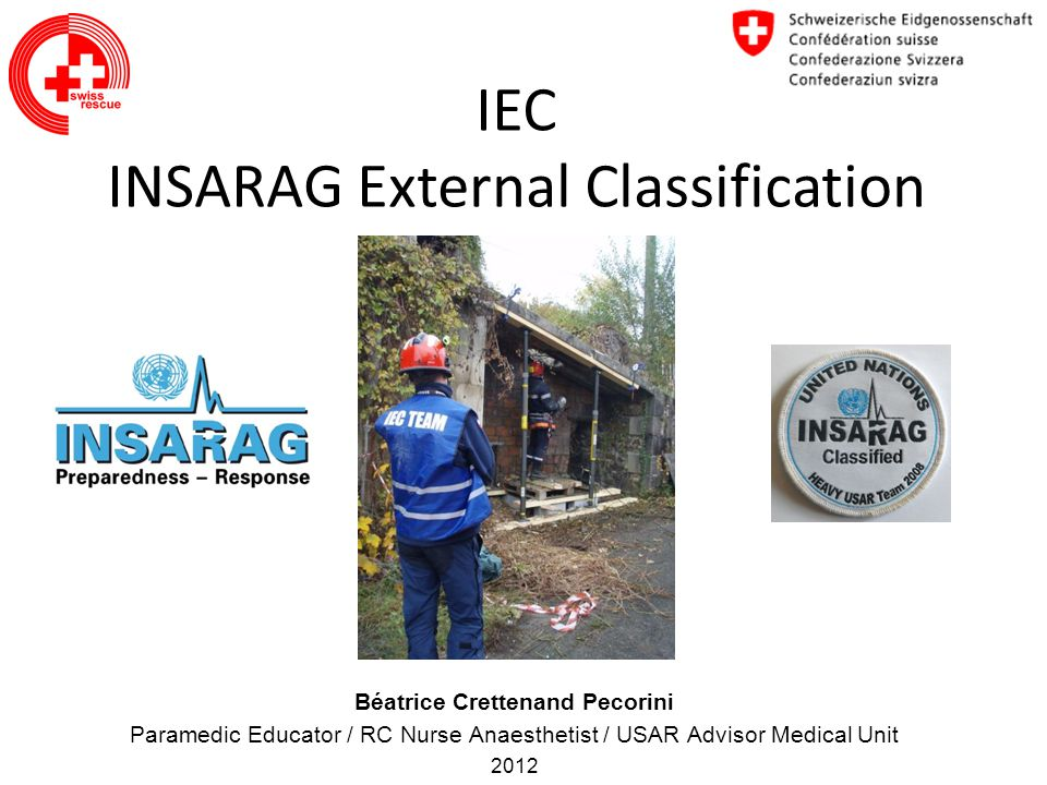 IEC INSARAG External Classification