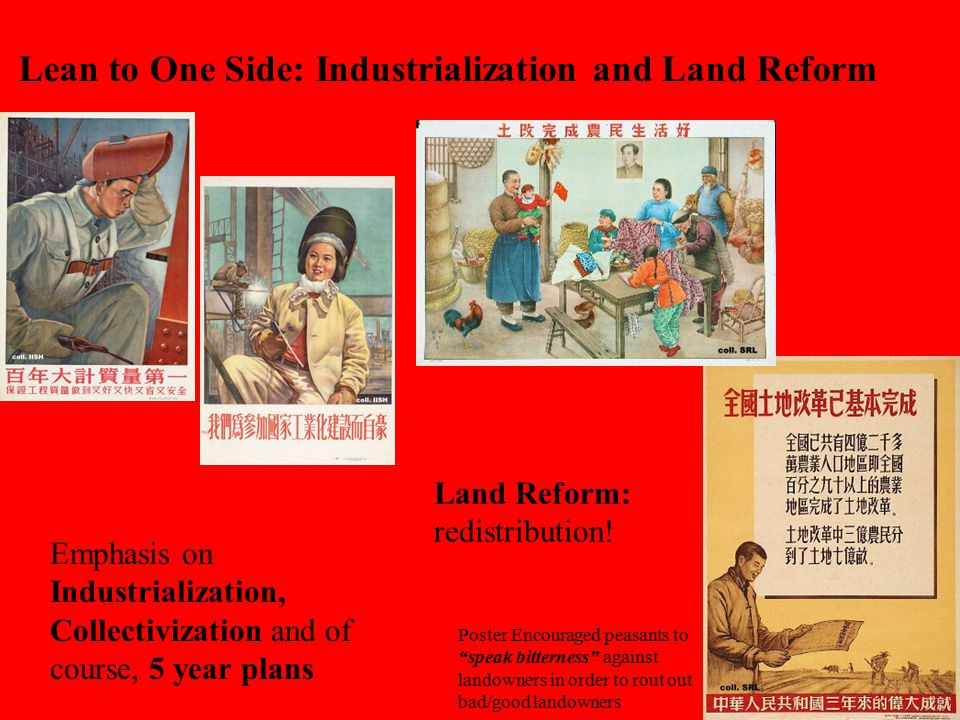 Lean to One Side: Industrialization and Land Reform