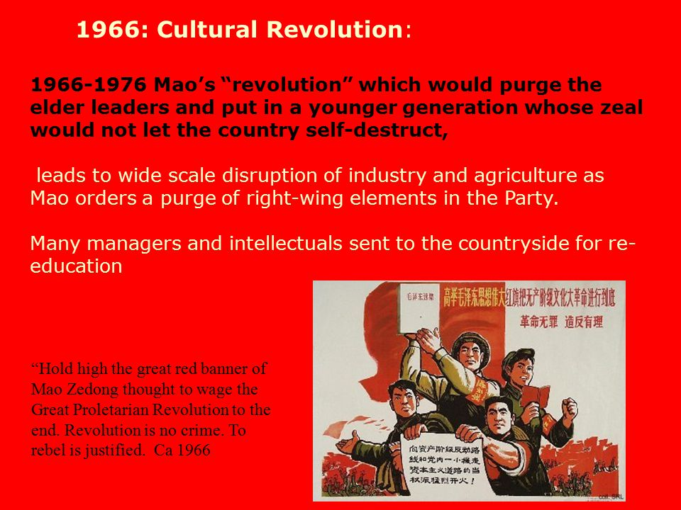 1966: Cultural Revolution: