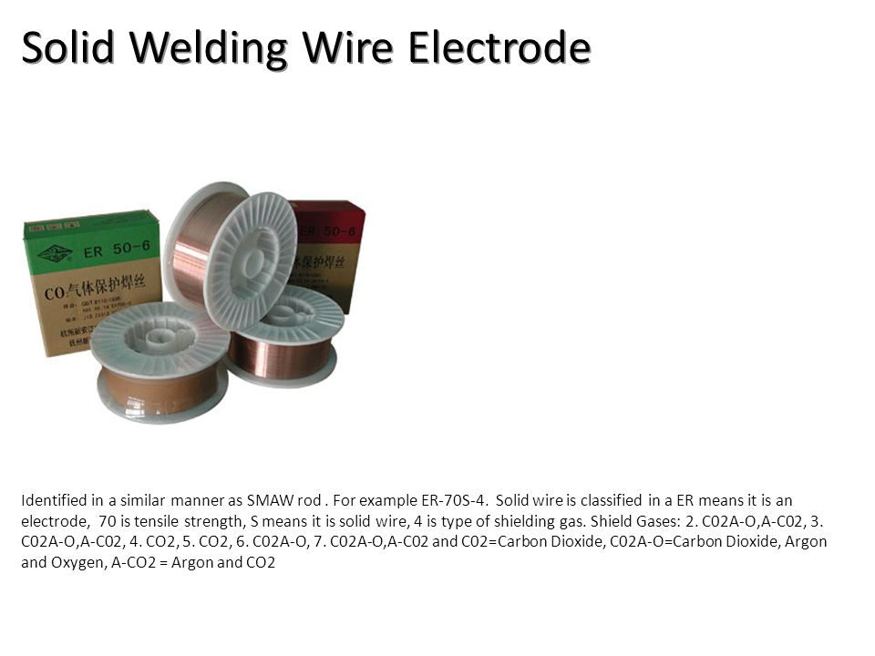 Solid Welding Wire Electrode