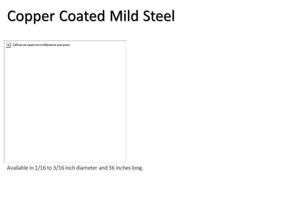 Copper Coated Mild Steel