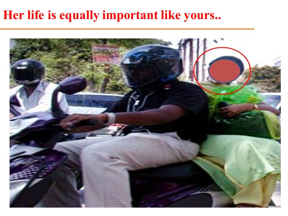 Her life is equally important like yours..