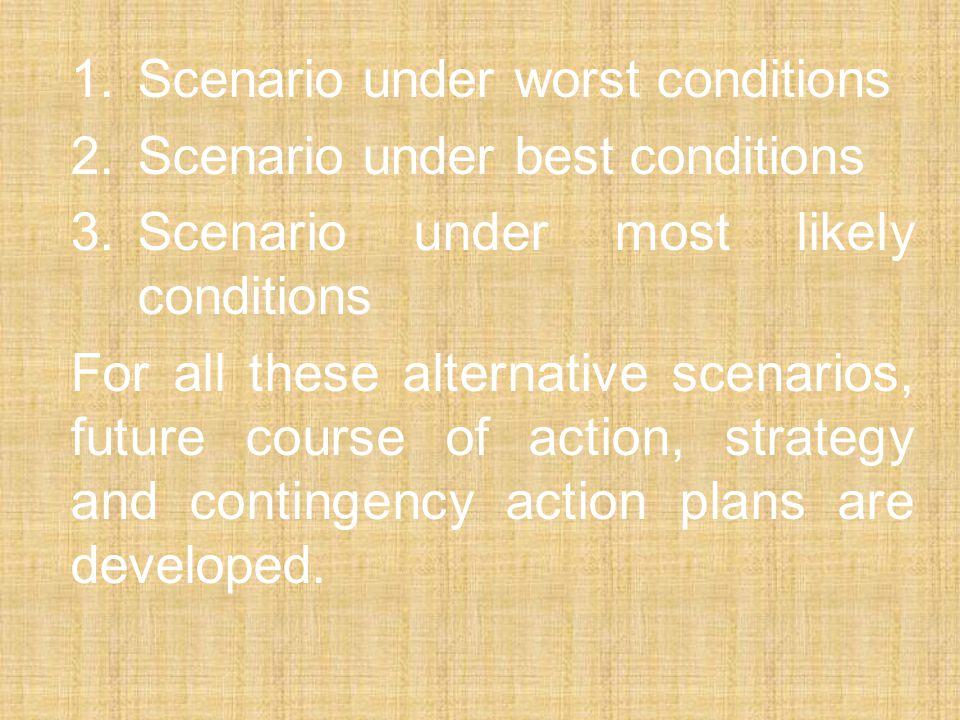 2. Scenario under best conditions
