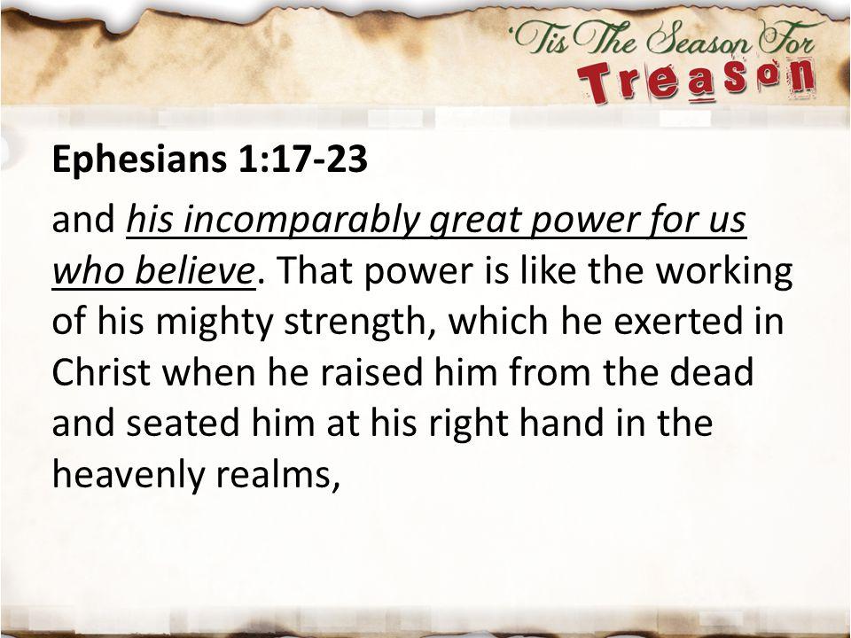 Ephesians 1:17-23