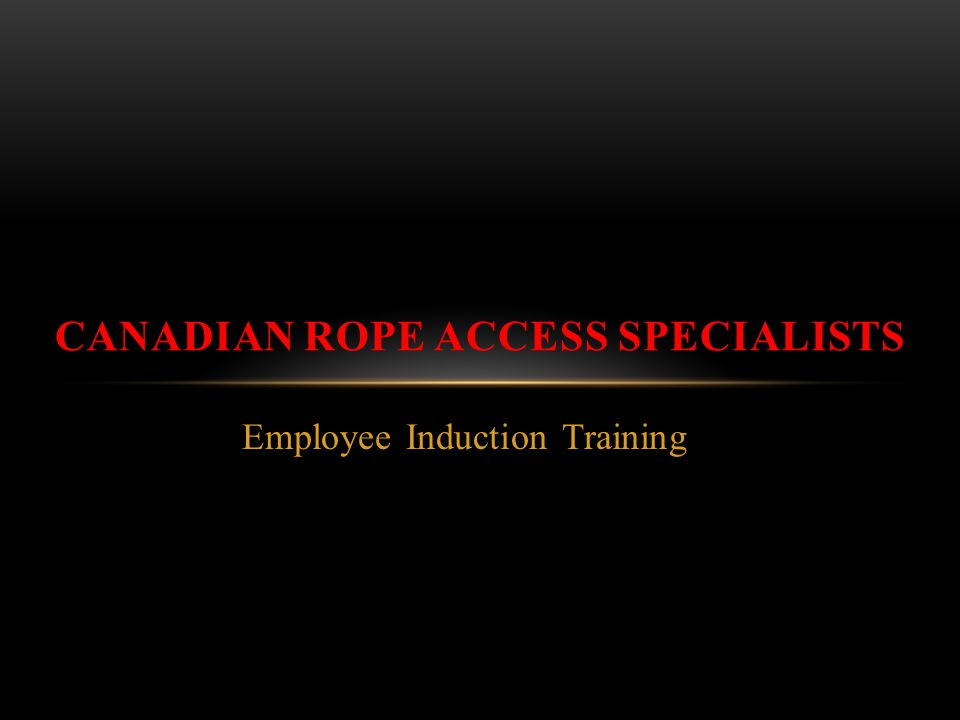 Canadian Rope Access Specialists