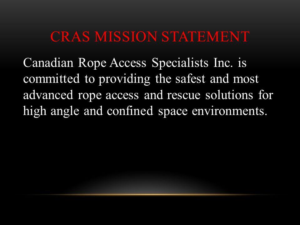 CRAS Mission Statement