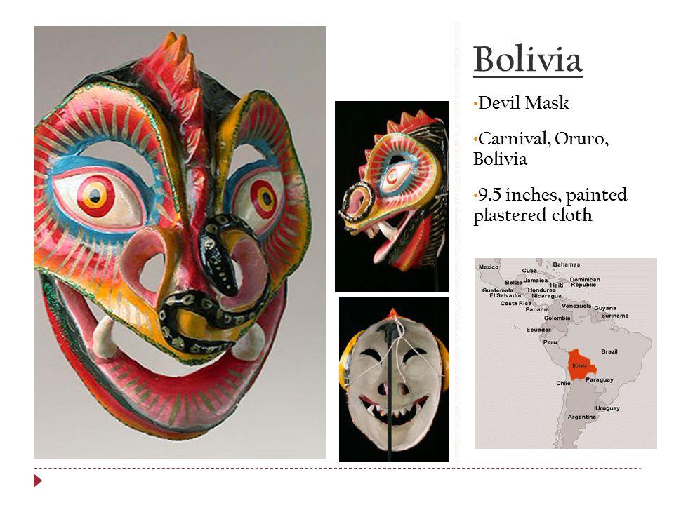 Bolivia Devil Mask Carnival, Oruro, Bolivia