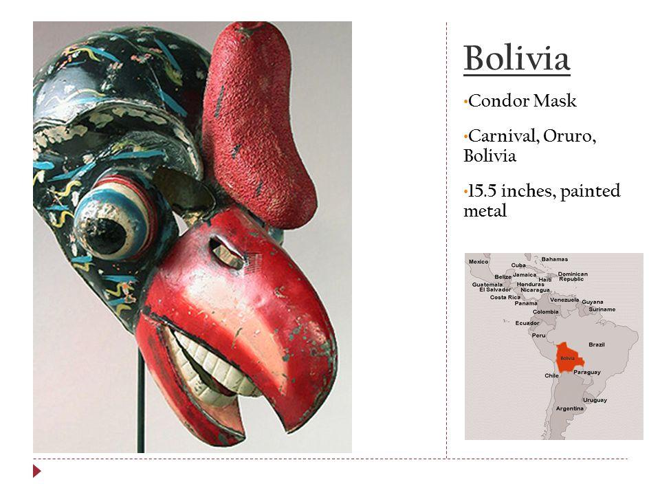 Bolivia Condor Mask Carnival, Oruro, Bolivia