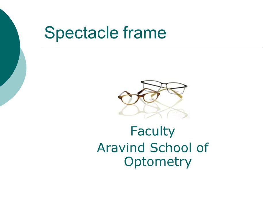 Aravind School of Optometry