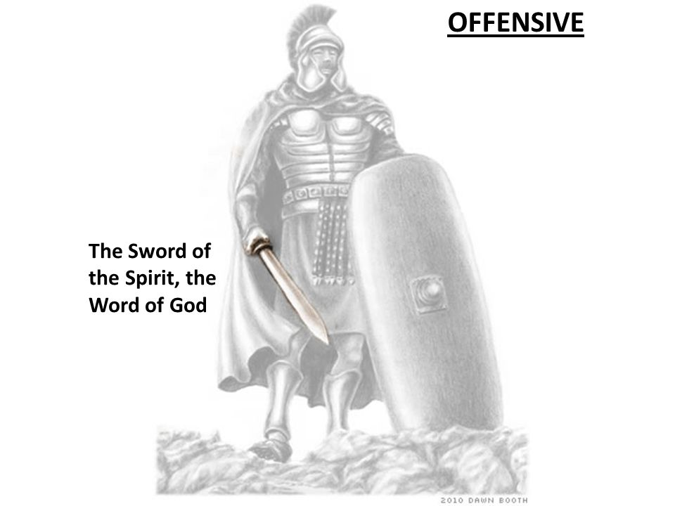 OFFENSIVE The Helmet of Salvation