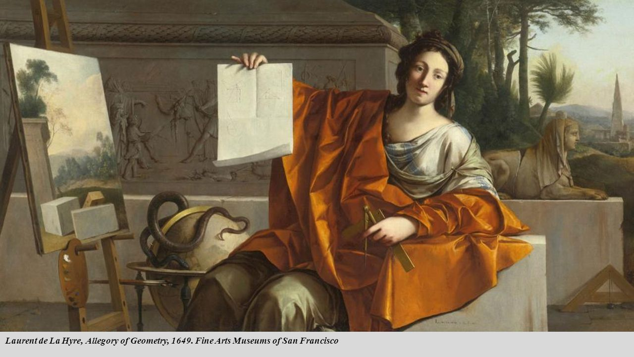 Laurent de La Hyre, Allegory of Geometry, 1649