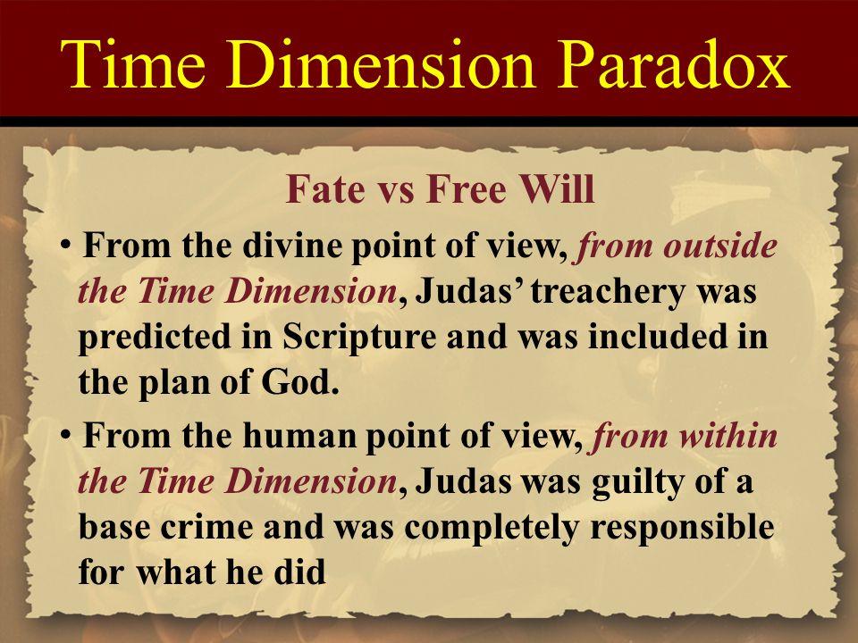 Time Dimension Paradox