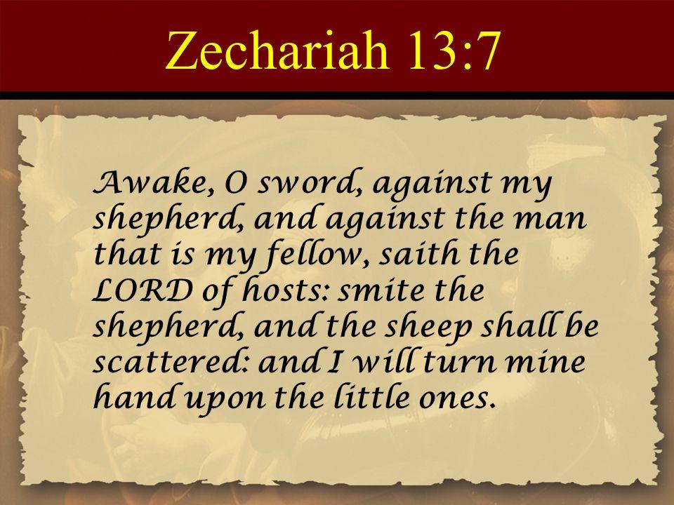 Zechariah 13:7