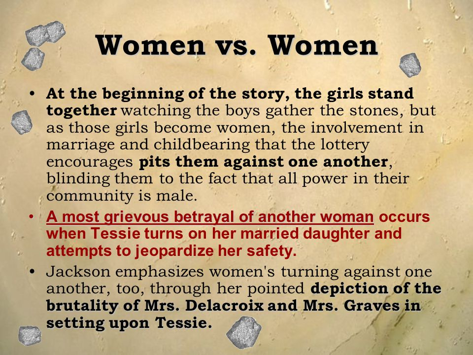 Women vs. Women