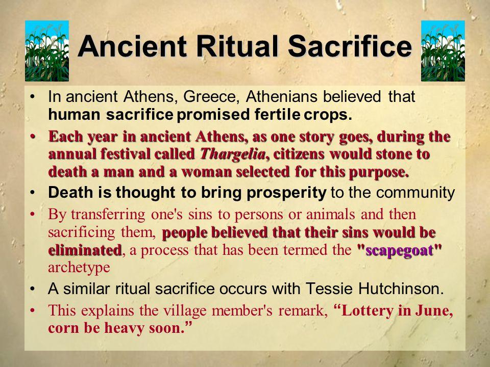 Ancient Ritual Sacrifice
