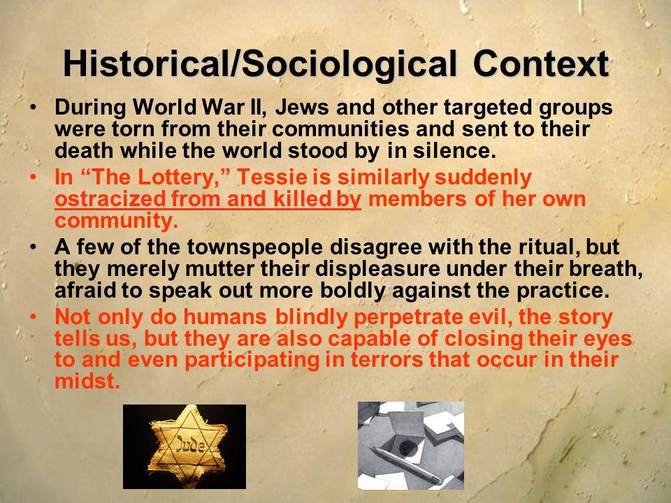 Historical/Sociological Context