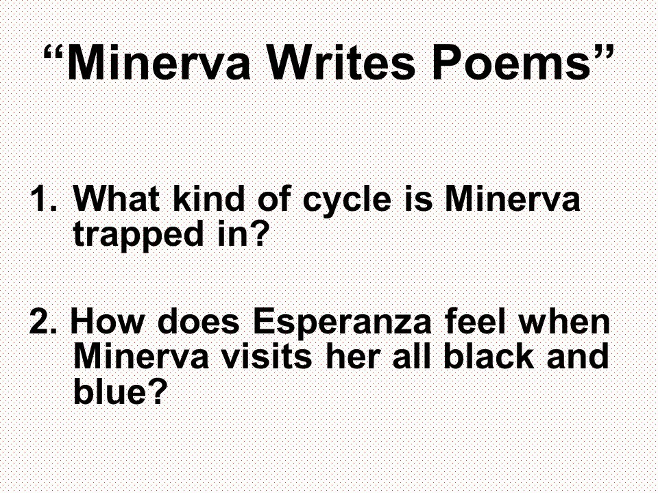 Minerva Writes Poems