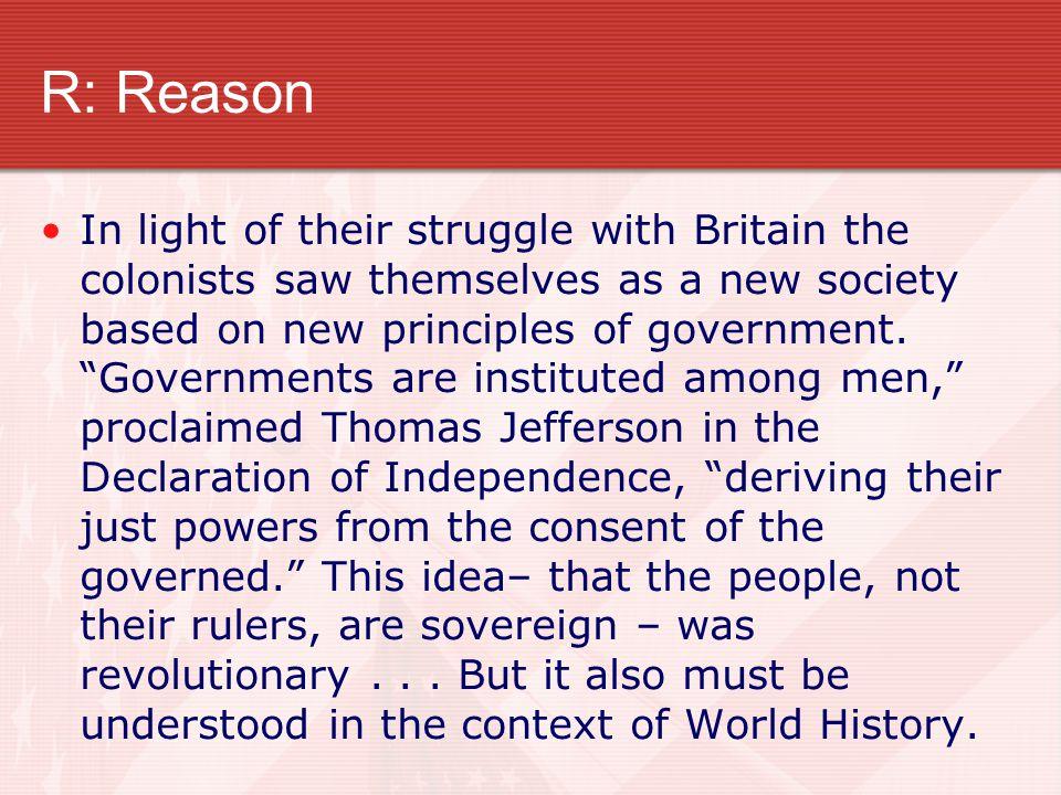 R: Reason