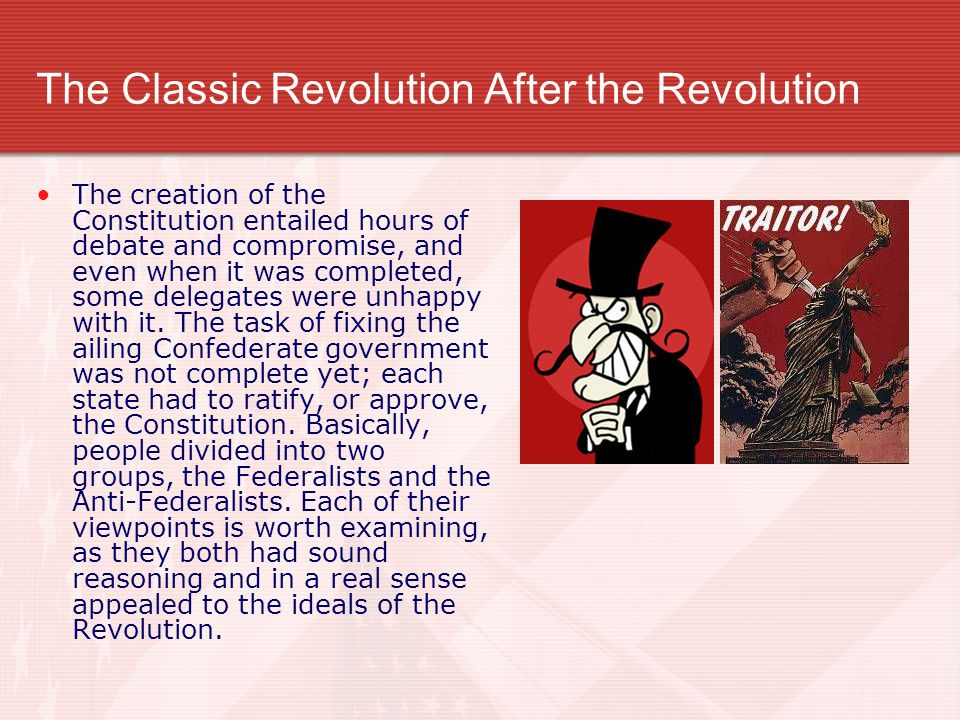 The Classic Revolution After the Revolution