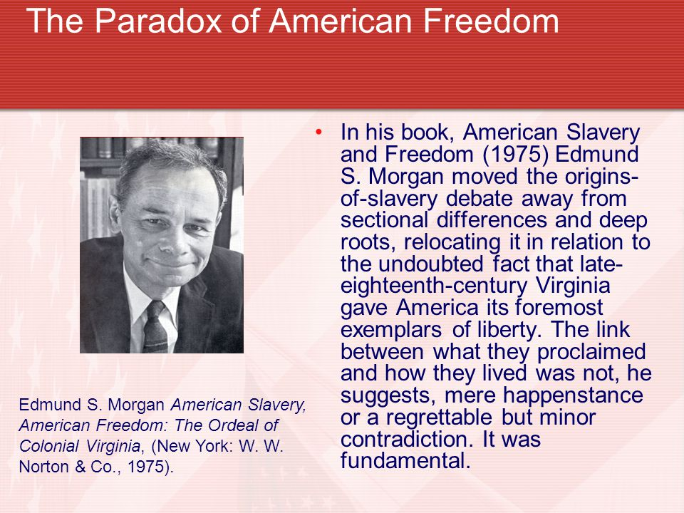 The Paradox of American Freedom